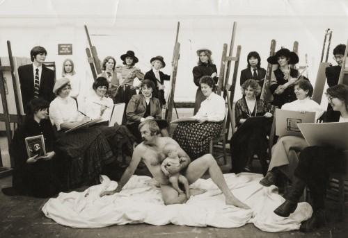 Front Range Women in the Visual Arts, A Decade of Women's Art- Boulder Center for the Visual Arts, 1984. Photo by Meridel Rubenstein.