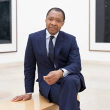 The Board of Directors appoints Okwui Enwezor Director of the Visual Arts Sector