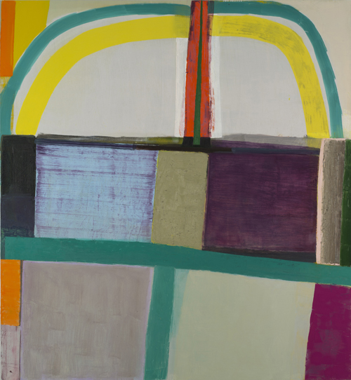 Amy Sillman Mother, 2013-14. Oil on canvas, 91 x 84 in. (231.1 x 213.4 cm) Collection of the artist; courtesy Sikkema Jenkins Co., New York. Photograph by John Berens.